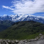 le Mont Blanc depuis le col d'Anterne